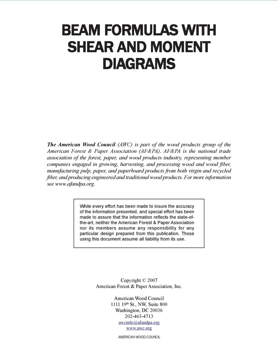 Beam Design Formulas With Shear And Moment Pdf Diagram Advertisement