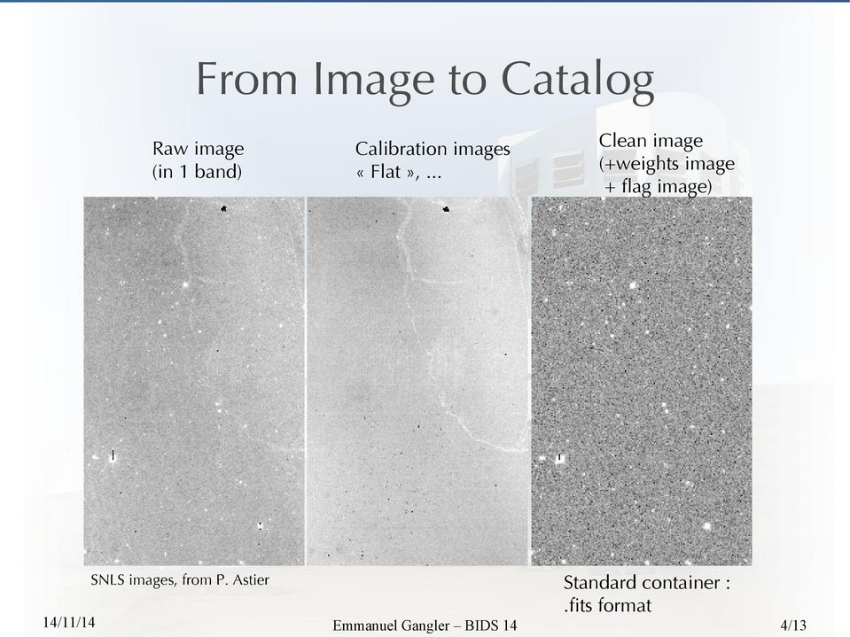 Astier Clean image (+weights image + fag image)