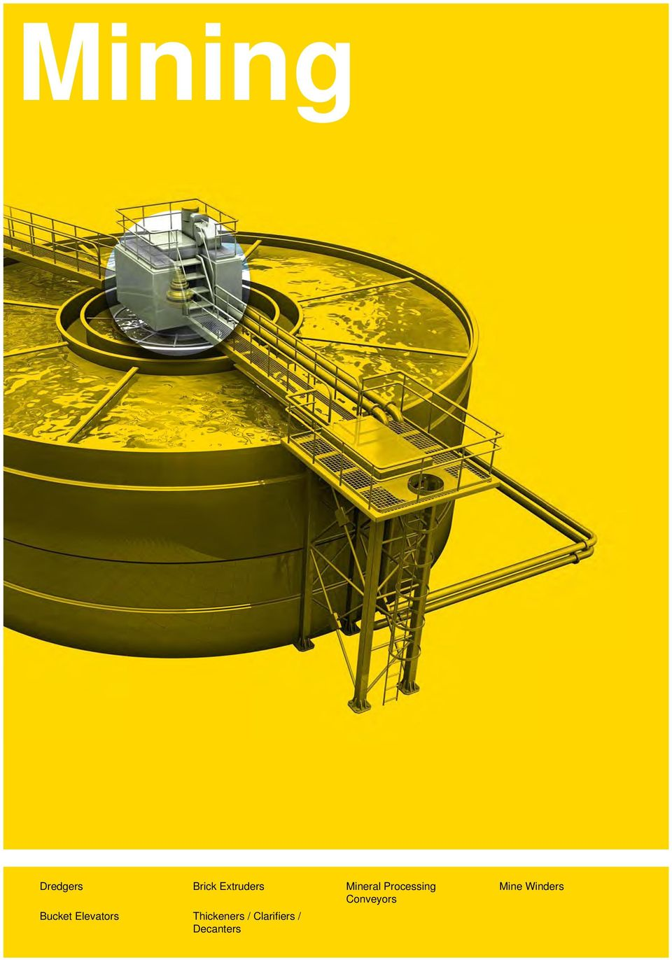 Bucket Elevators Thickeners /