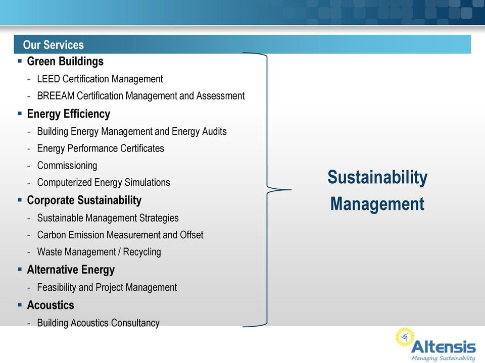 Simulations Corporate Sustainability - Sustainable Management Strategies - Carbon Emission Measurement and Offset - Waste