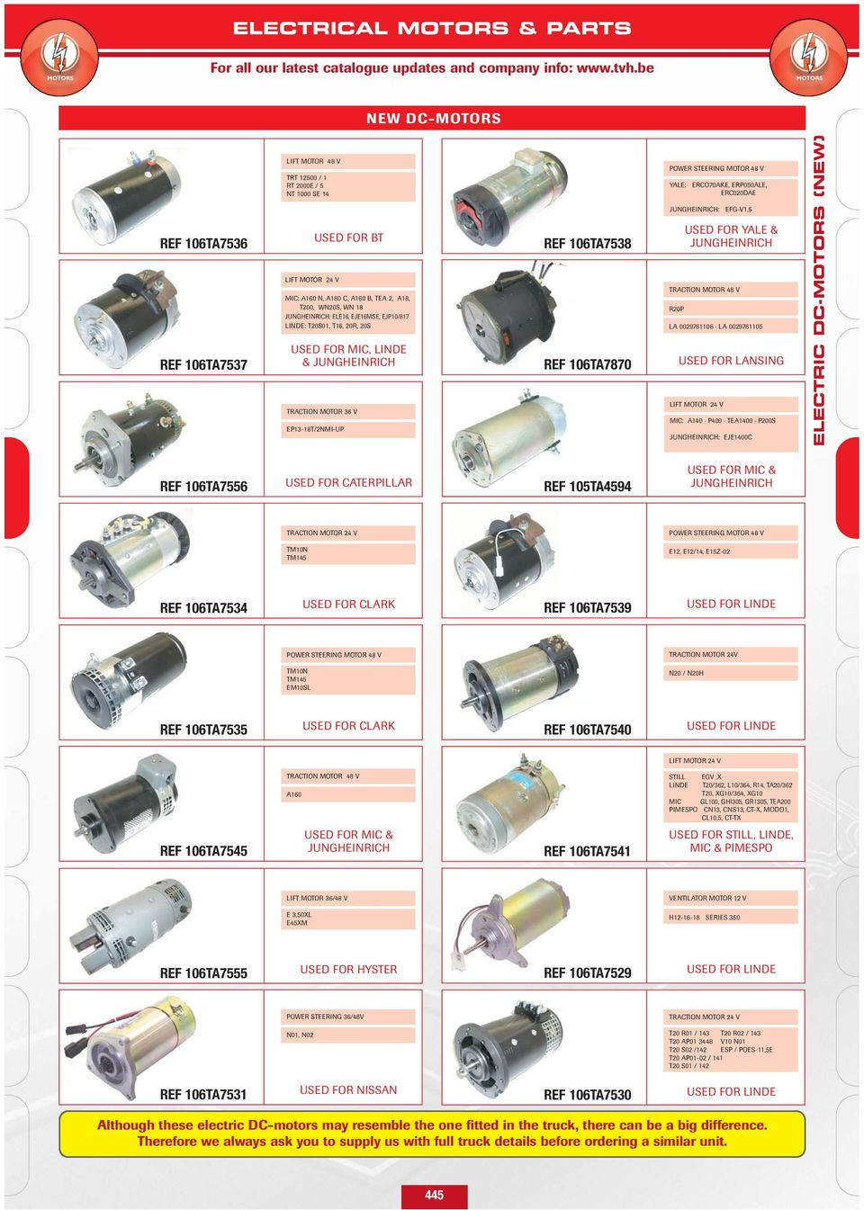 We can offer you new and rebuilt traction motors lift for Dc traction motor pdf