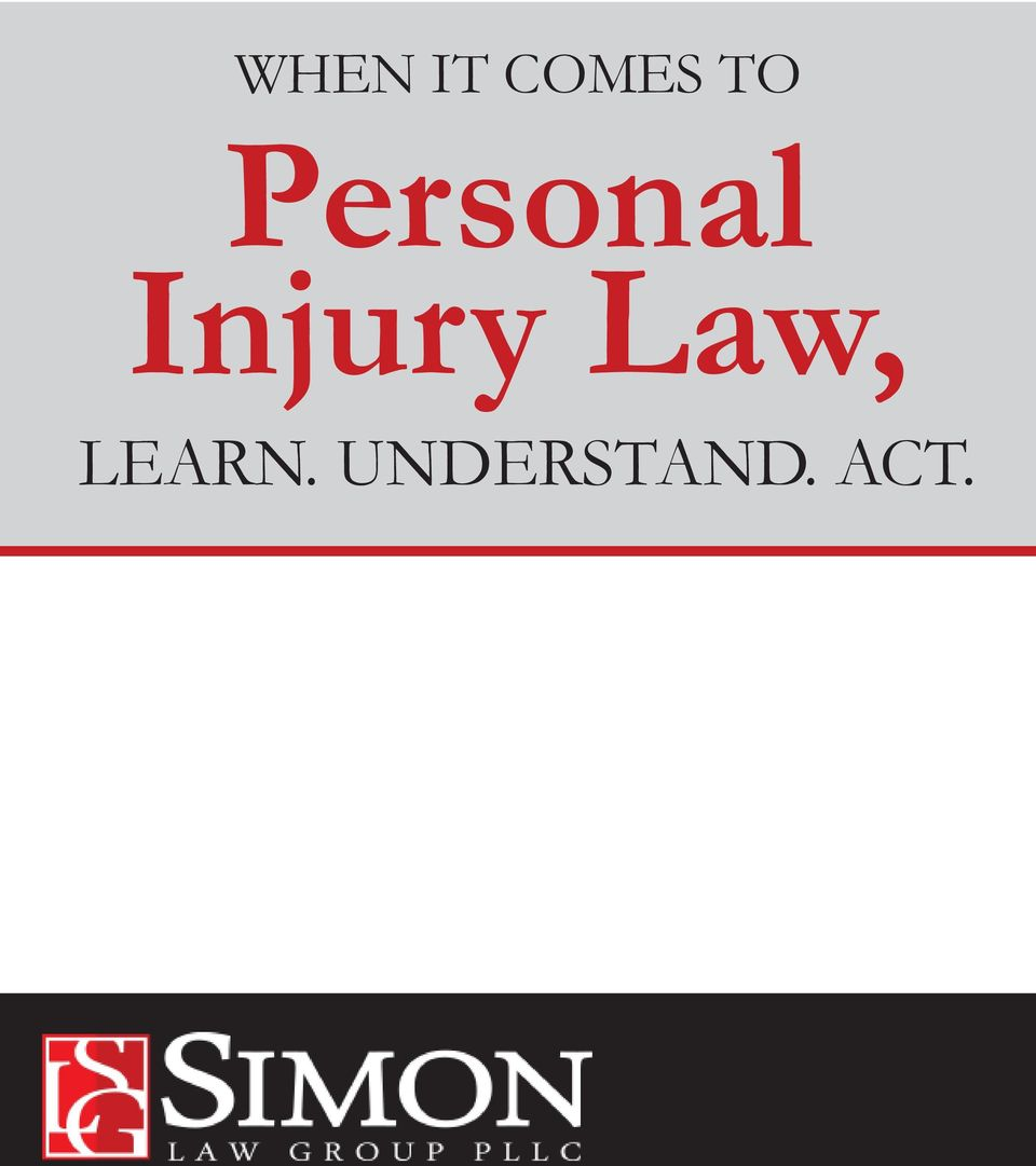 Injury Law,