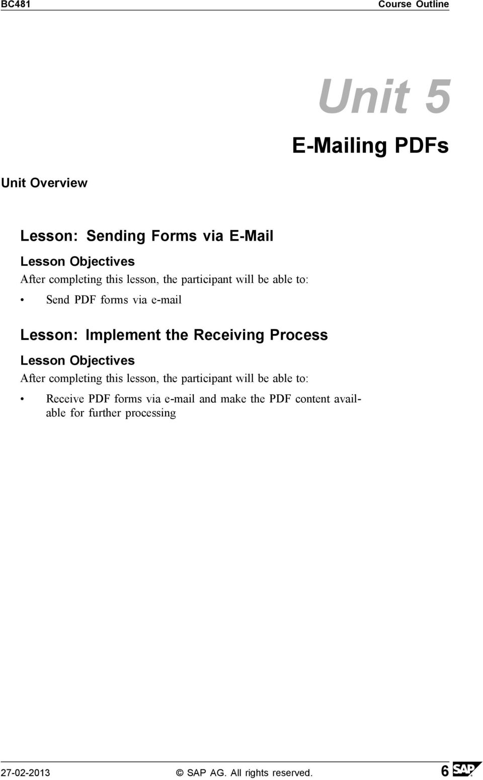 Process Receive PDF forms via e-mail and make the PDF content