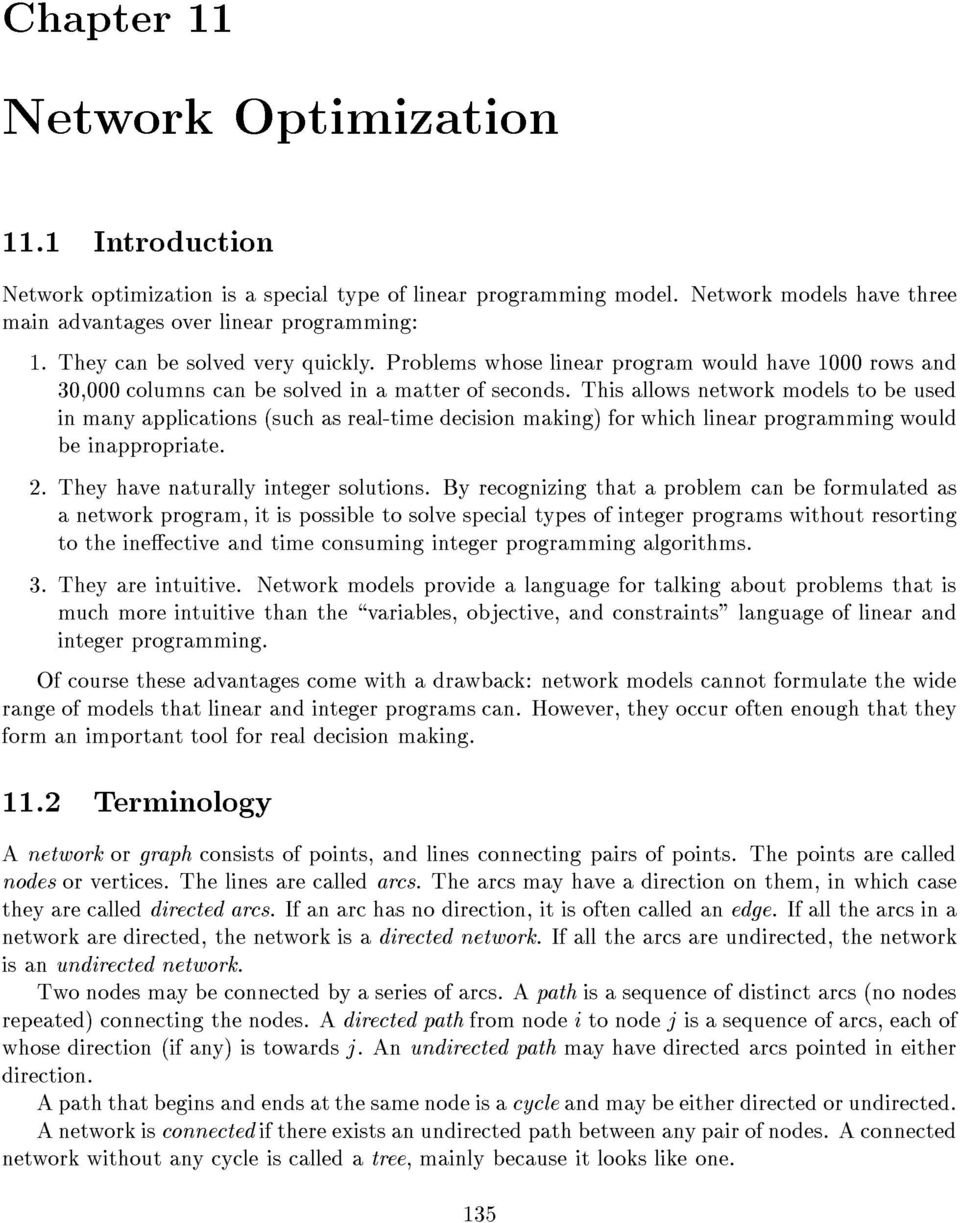 advantages of linear programming