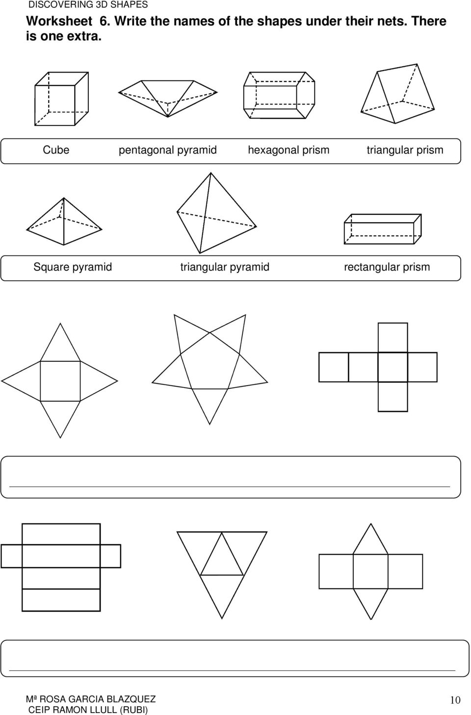 Worksheet Surface Area Nets Worksheet Worksheet Fun Worksheet