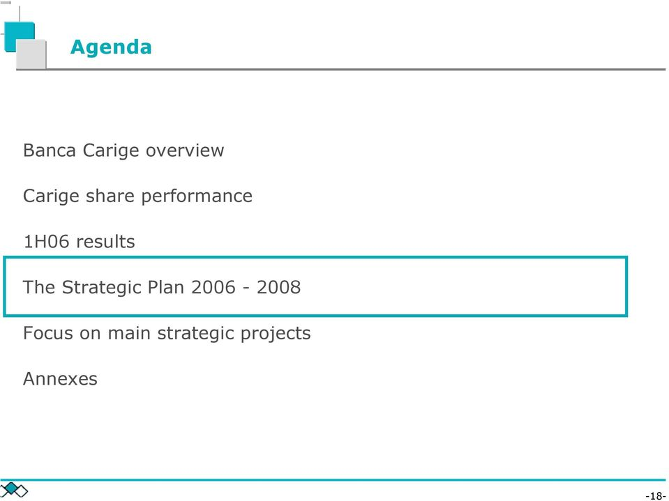 results The Strategic Plan
