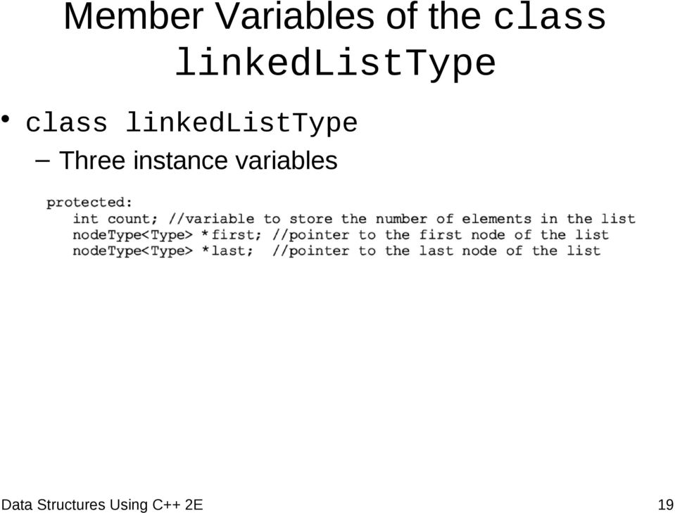 linkedlisttype Three instance