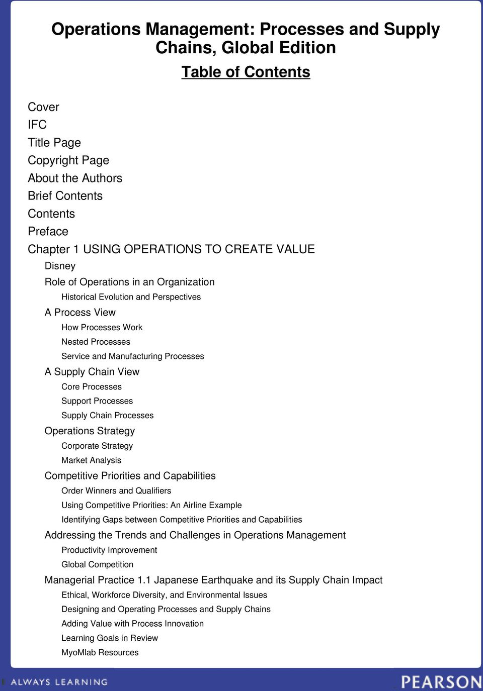 Operations Management - PDF