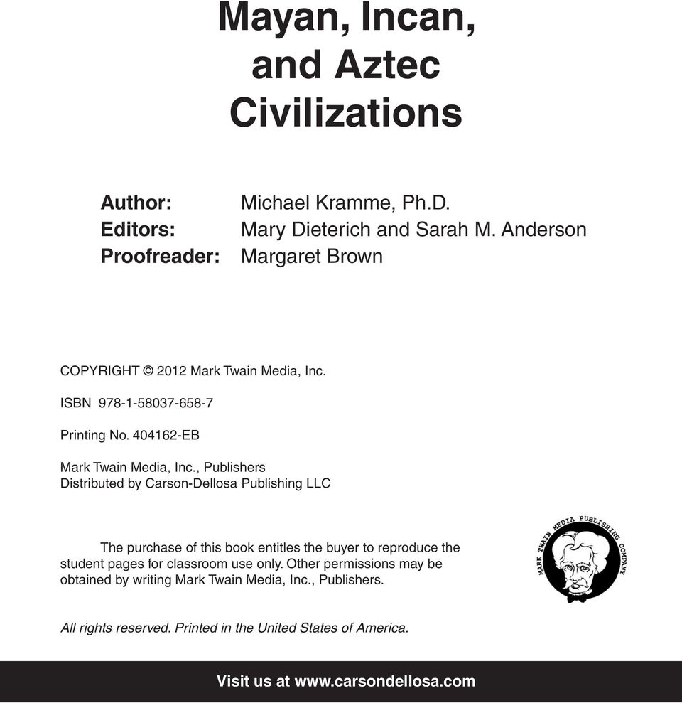 Mayan Incan And Aztec Civilizations Pdf