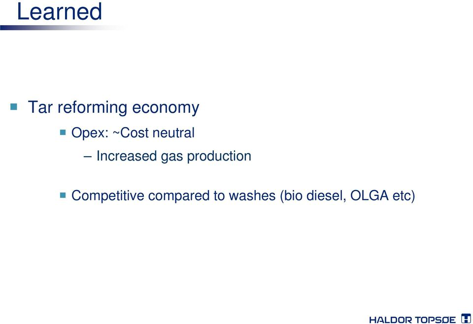 gas production Competitive