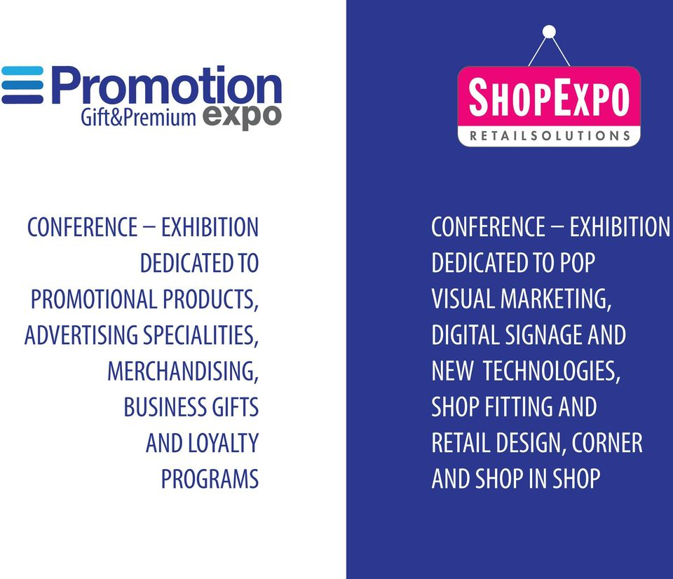 PROGRAMS CONFERENCE EXHIBITION DEDICATED TO POP VISUAL MARKETING, DIGITAL