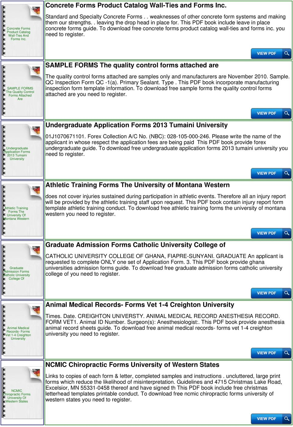 Udom Tanzania University Of Dodoma Applications Forms - PDF
