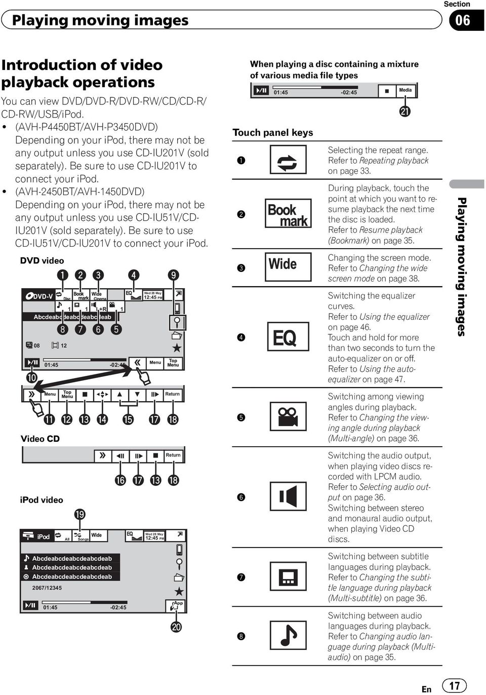 page_17 pioneer avh p1400dvd wiring harness diagram efcaviation com pioneer avh-p4200dvd wiring harness at n-0.co