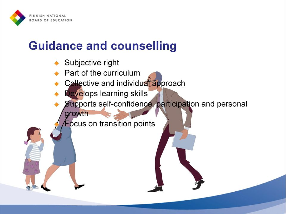 Develops learning skills Supports self-confidence,