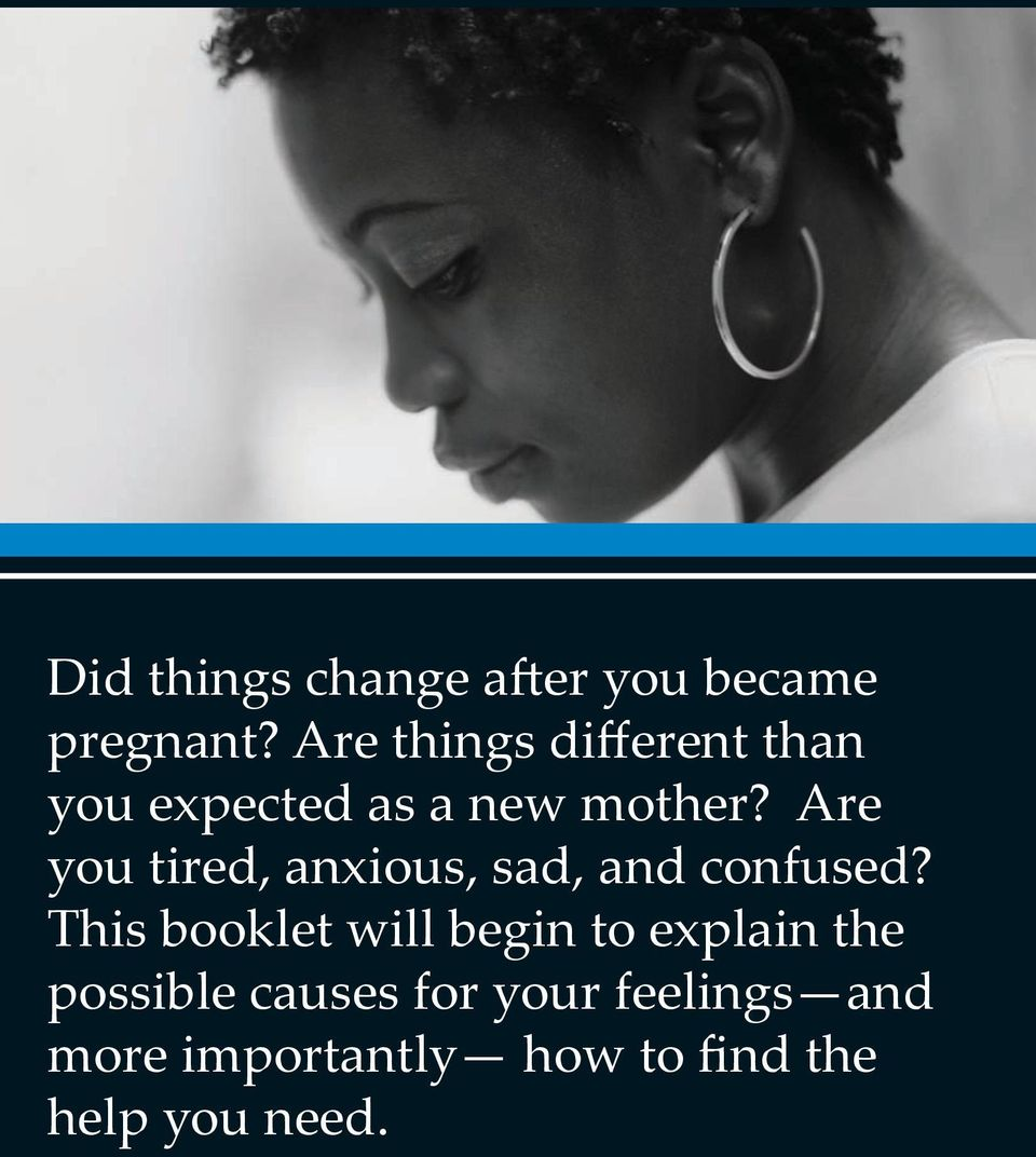 Are you tired, anxious, sad, and confused?