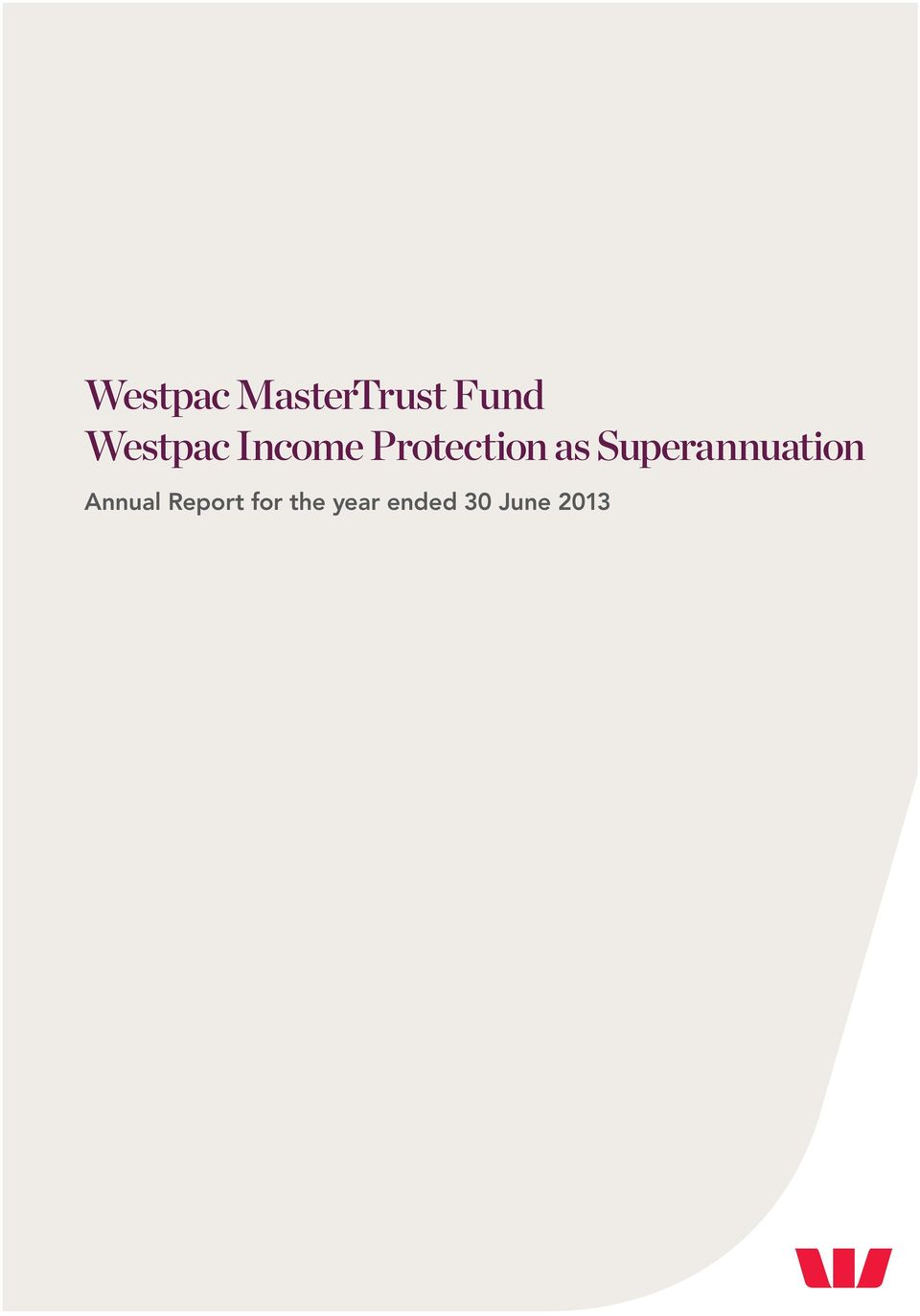 Superannuation Annual Report