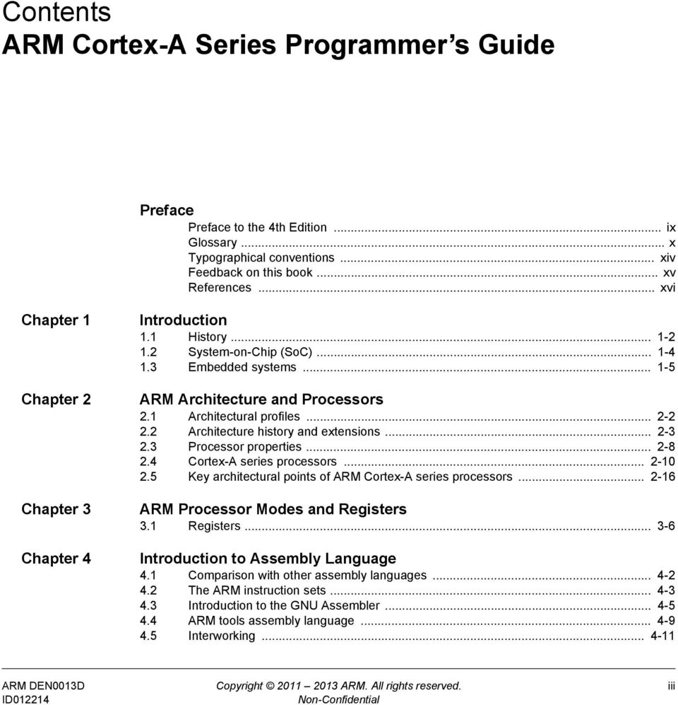 Cortex -A Series ARM  Programmer s Guide  Version: 4 0