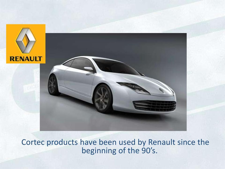 Renault since the