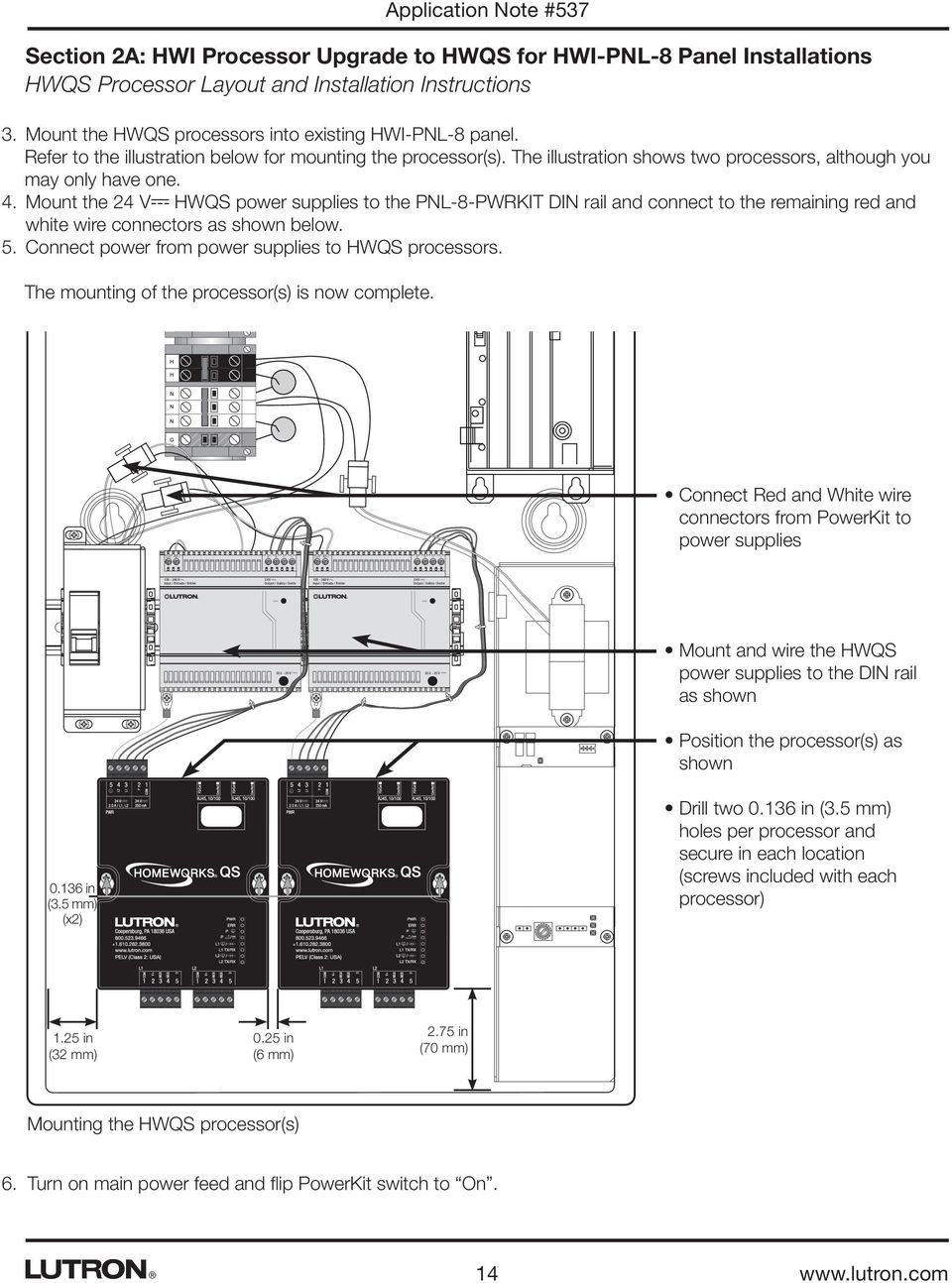application note #537 revision d august 2015 solutions for ... hwi pnl lutron homeworks wiring diagram 5