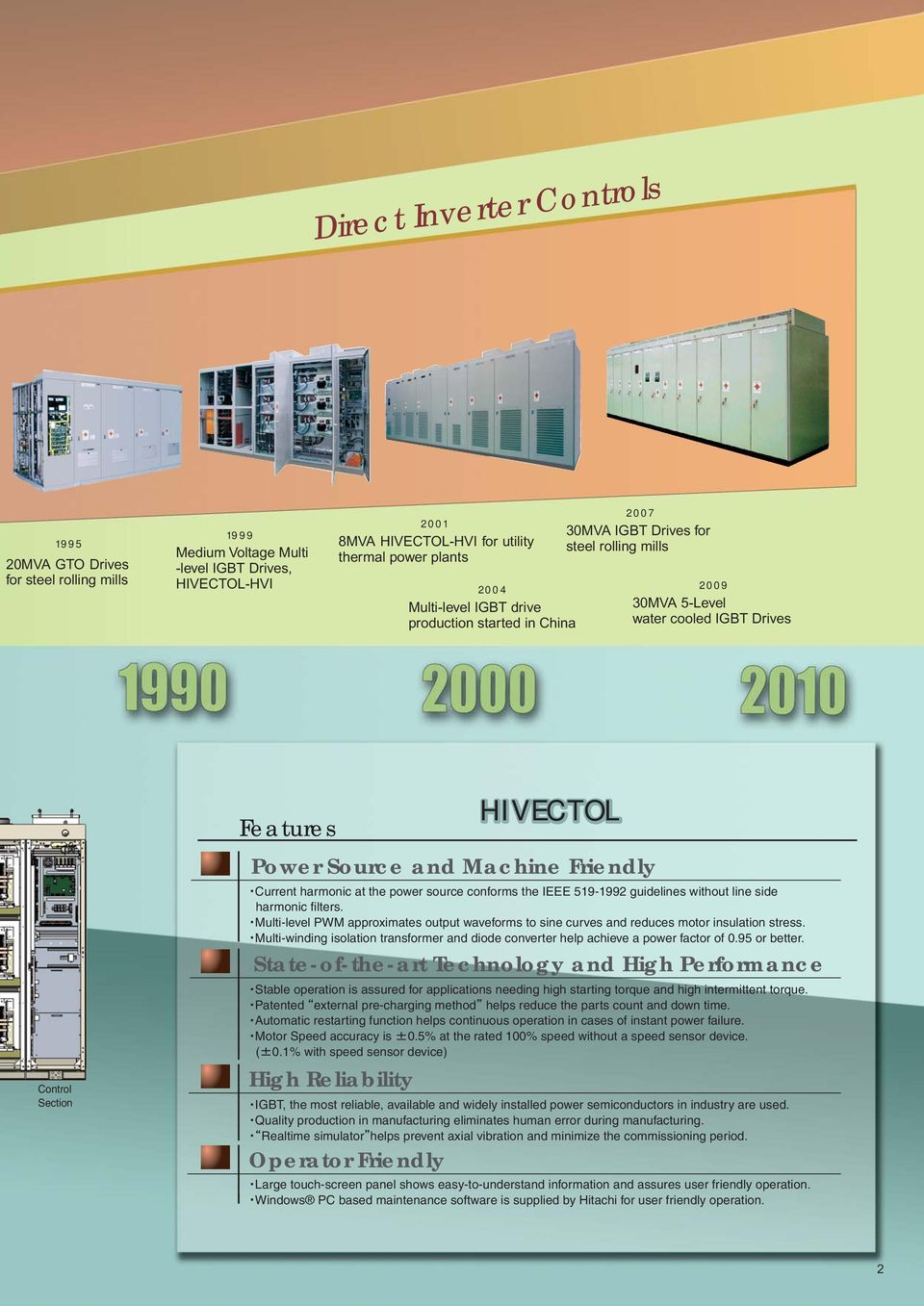 Over 80 Years of Experience in Variable Speed Drives - PDF