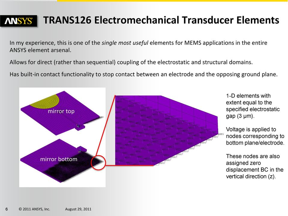 Has built-in contact functionality to stop contact between an electrode and the opposing ground plane.
