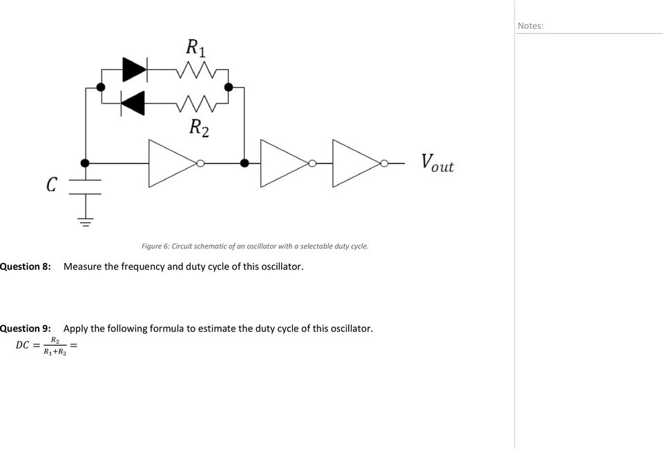 Question 8: Measure the frequency and duty cycle of this
