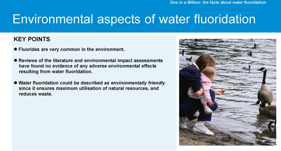 adverse environmental effects resulting from water.