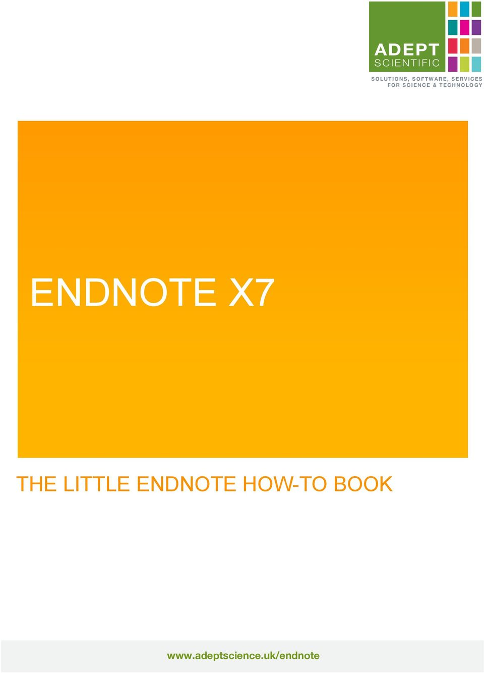 SCIENCE & TECHNOLOGY ENDNOTE