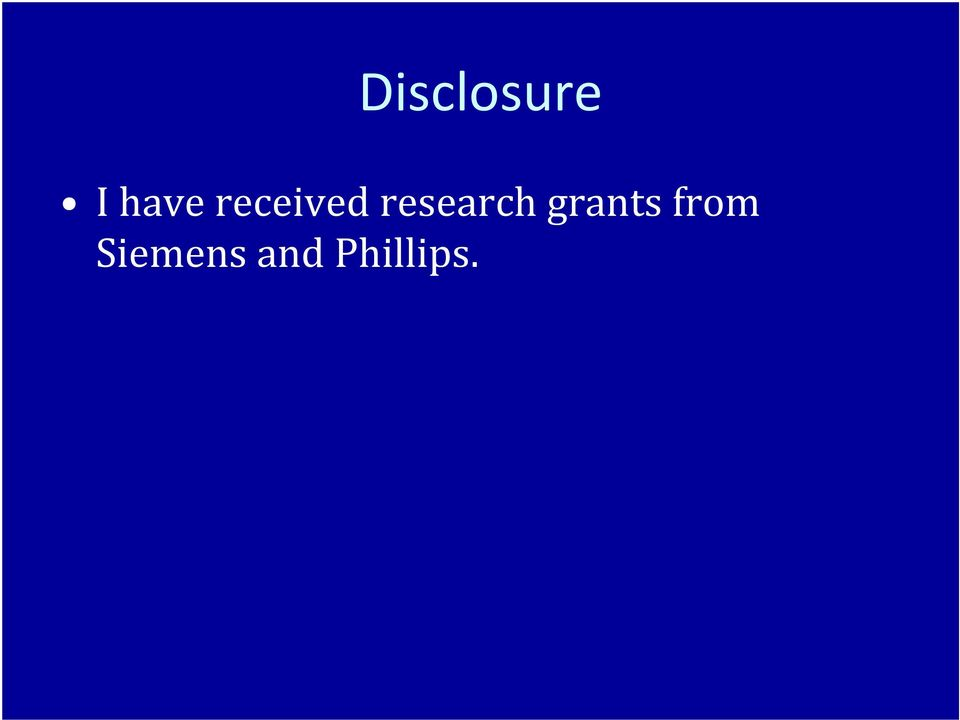 grants from
