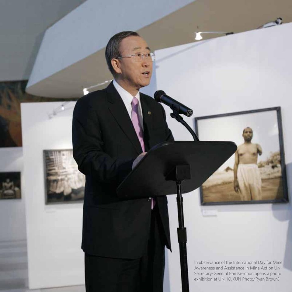 Action UN Secretary-General Ban Ki-moon