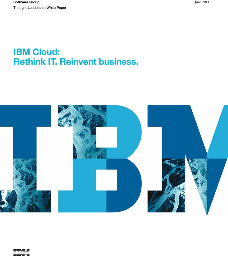 June 2011 IBM Cloud: