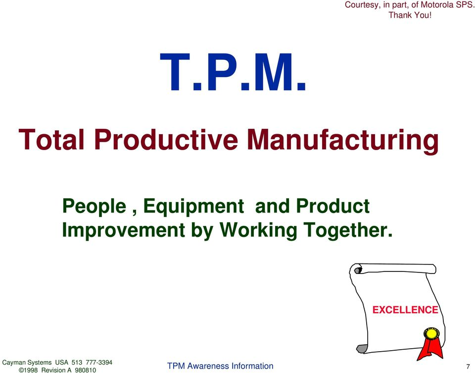 Manufacturing People,