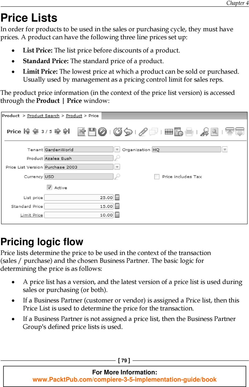 product and price management pdf