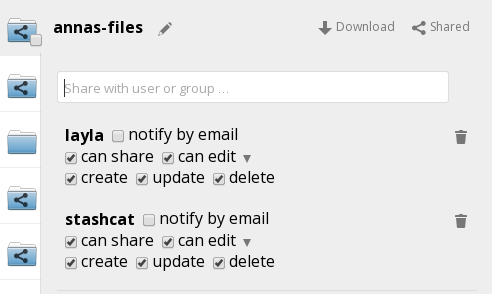 All files The default view; displays all files that you have access to. Shared with you Displays all files shared with you by another user or group.