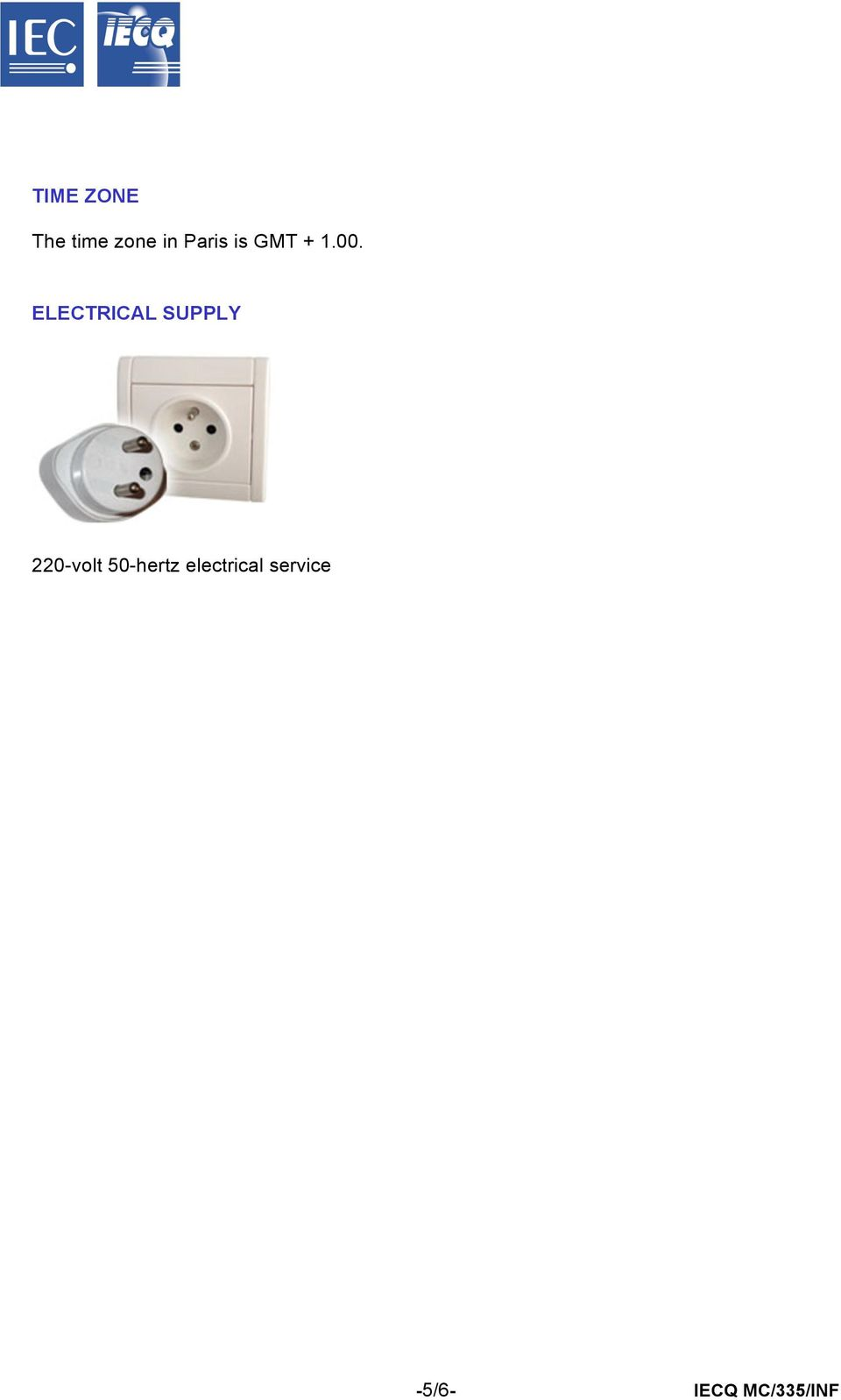 ELECTRICAL SUPPLY 220-volt