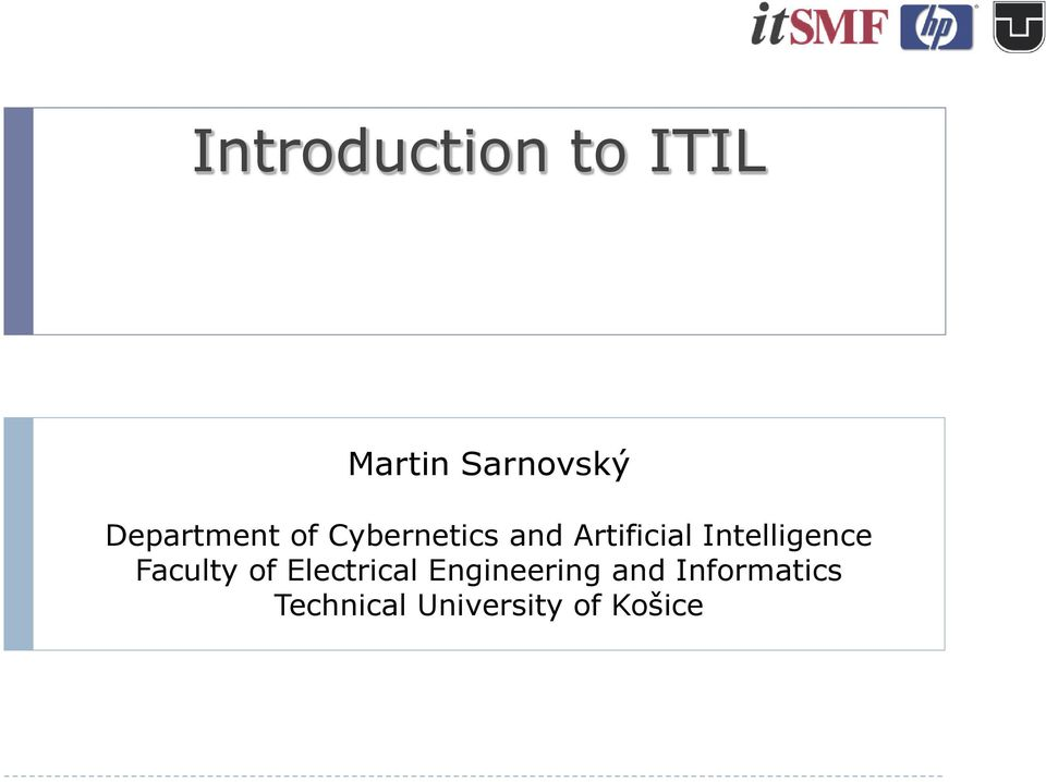 Intelligence Faculty of Electrical