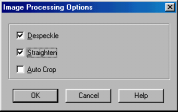 If Convert by OCR is selected, the Output Options for the Process Definition refer to the text document that is produced by the OCR process, not the original image.