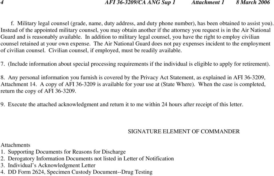 Air Force Push Letter Example Best Quotes Collection