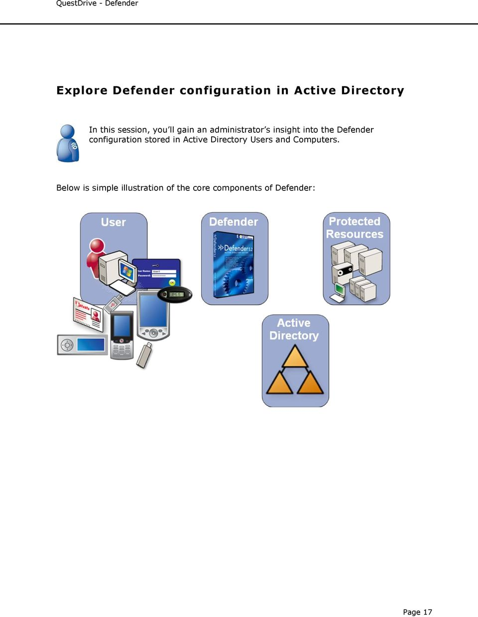 Defender configuration stored in Active Directory Users and