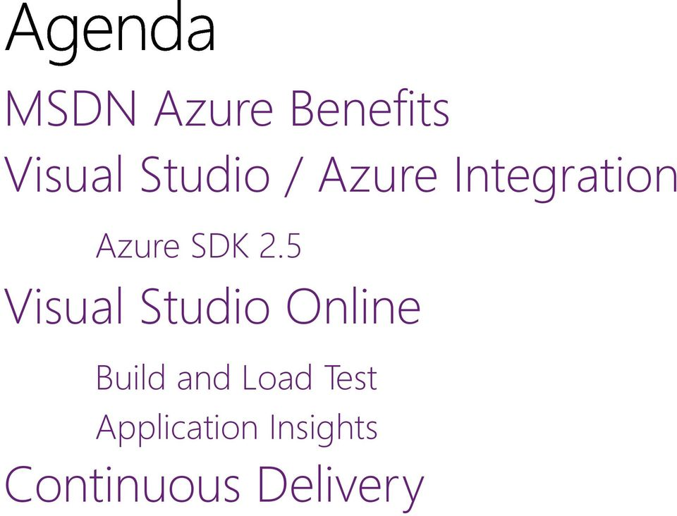 5 Visual Studio Online Build and Load