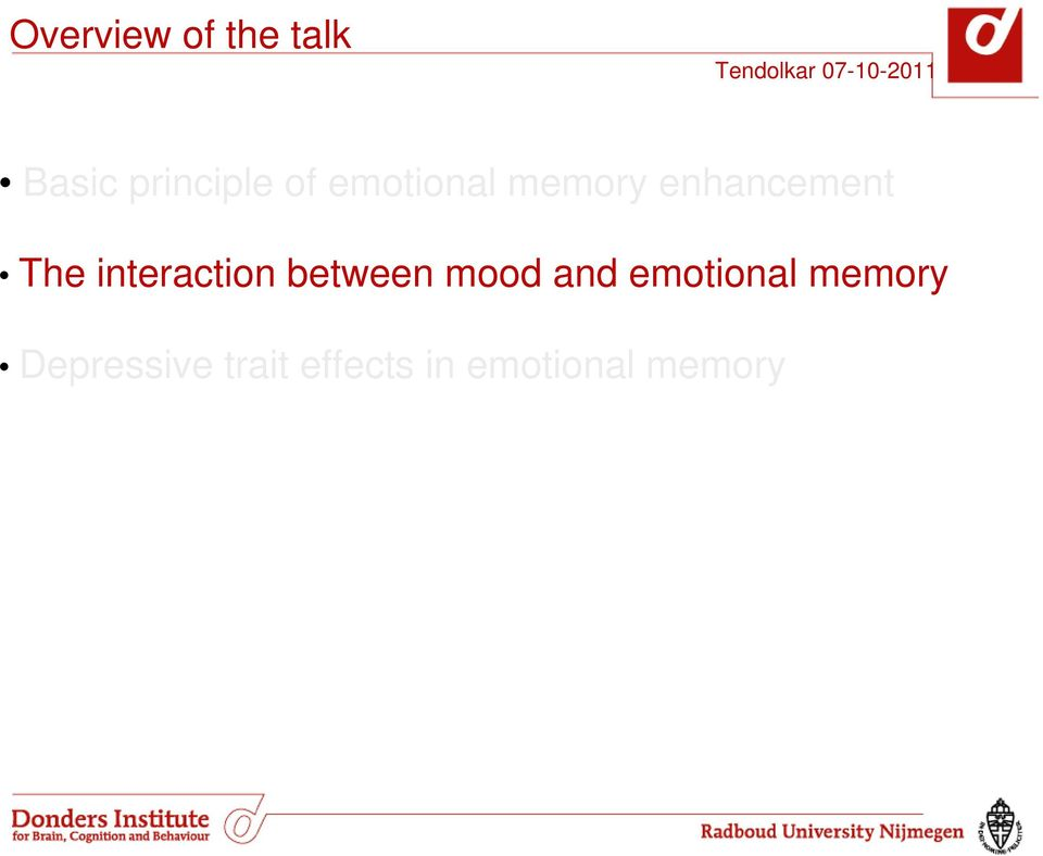 interaction between mood and emotional
