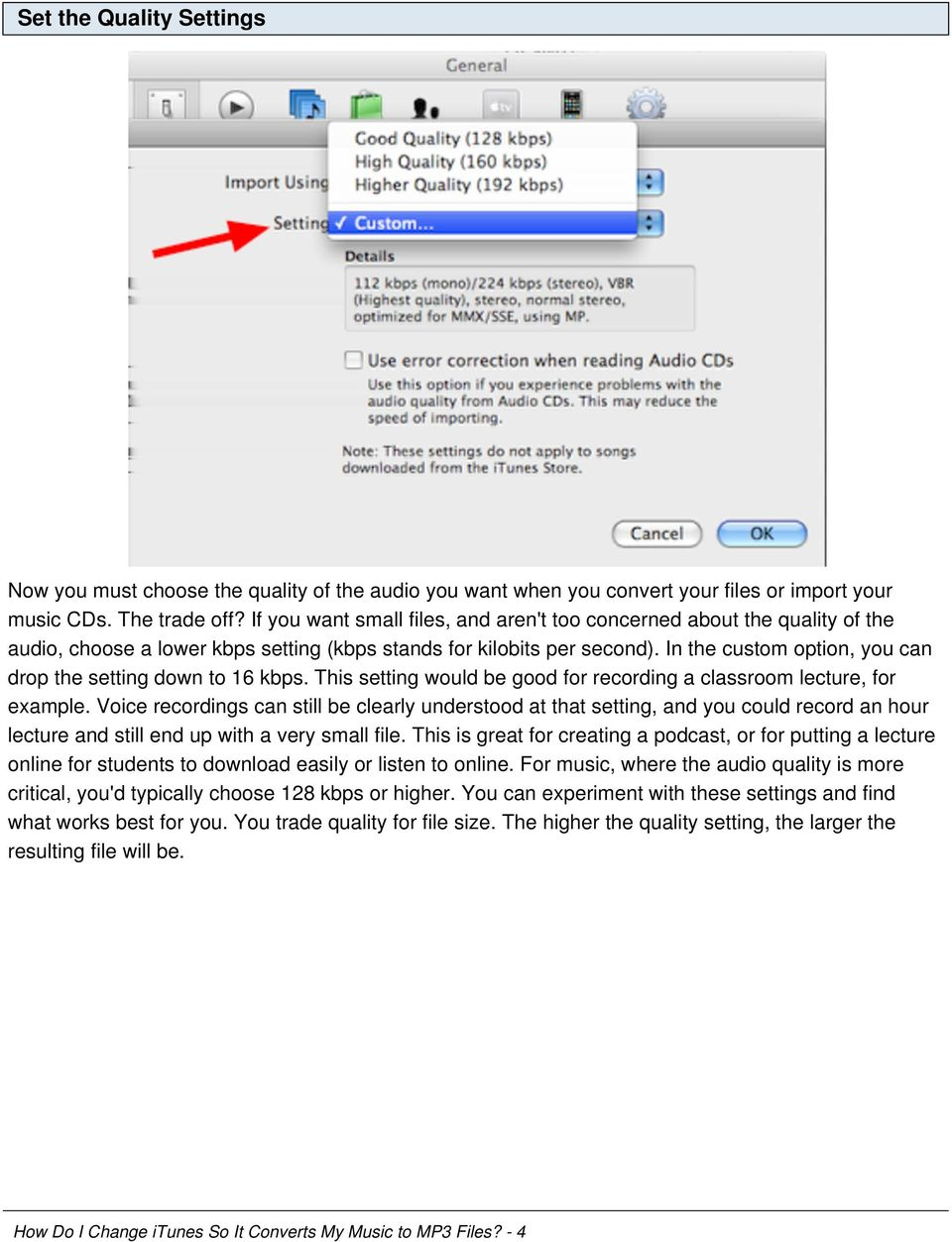 how to put mp3 files to itunes