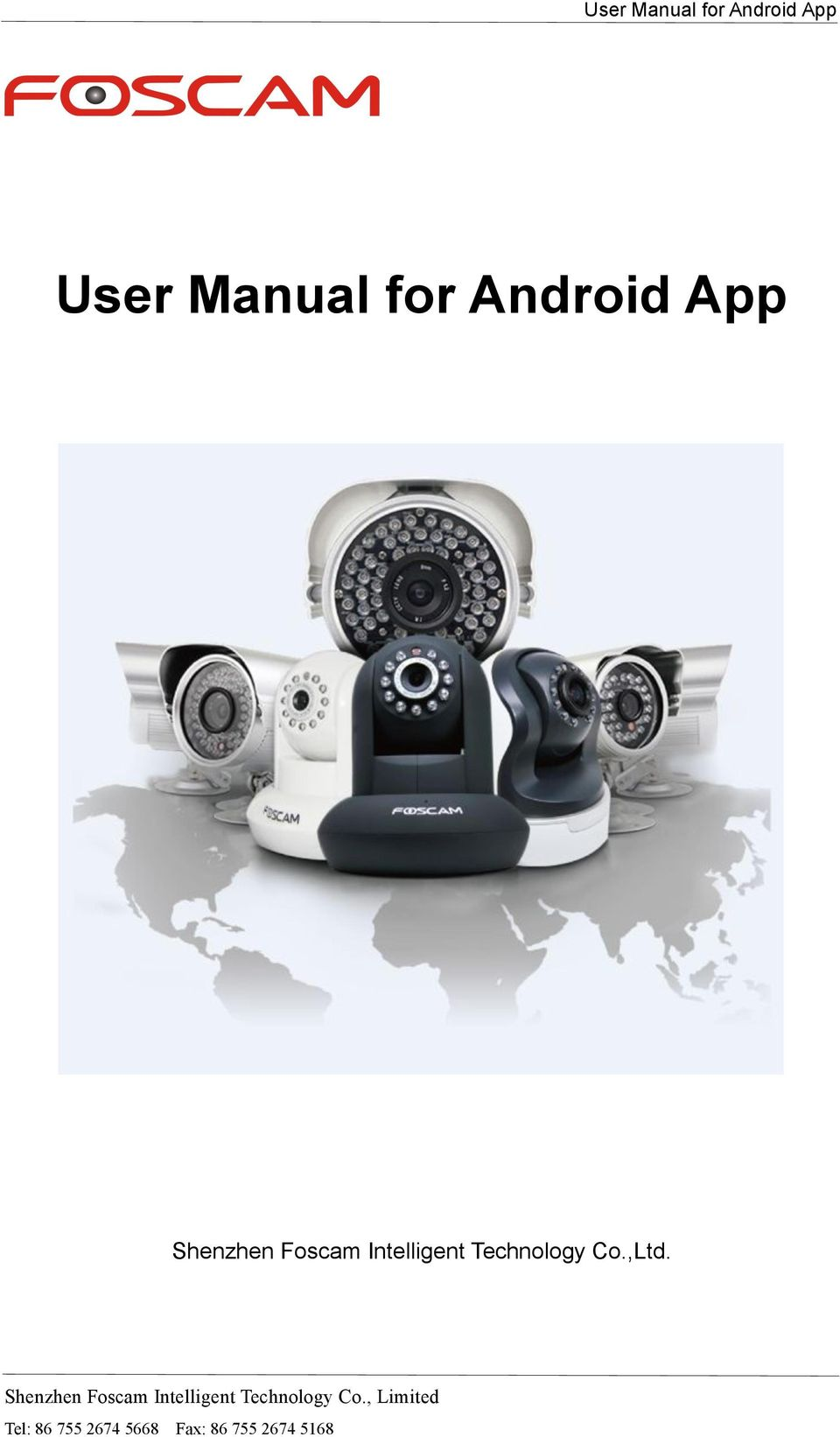 User Manual for Android App - PDF
