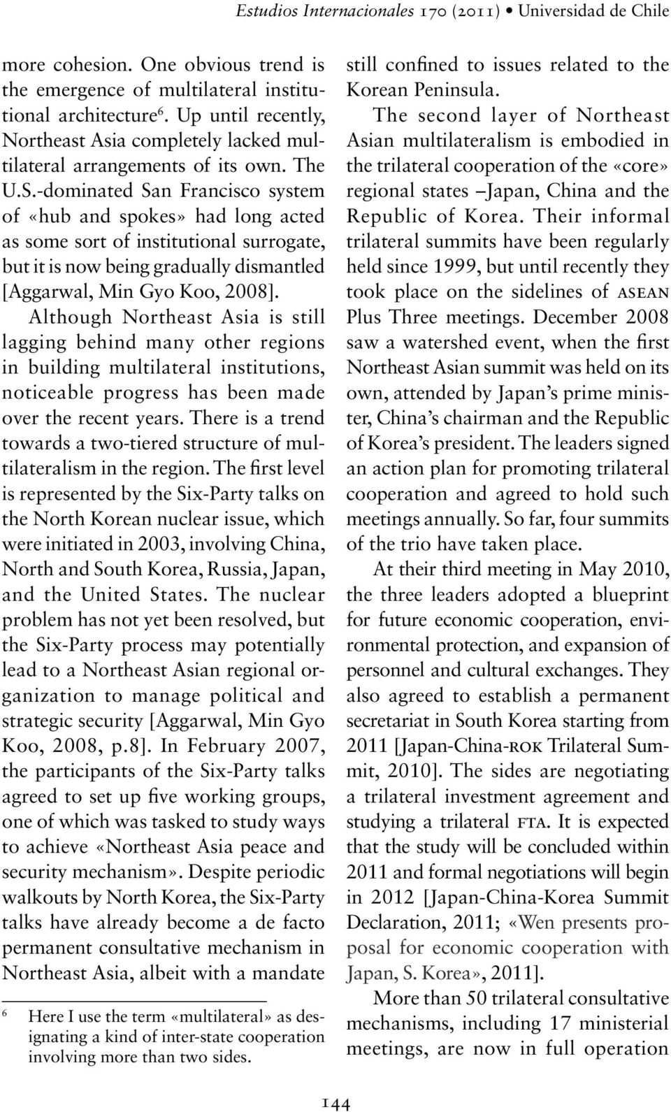 multilateral security system for northeast asia essay