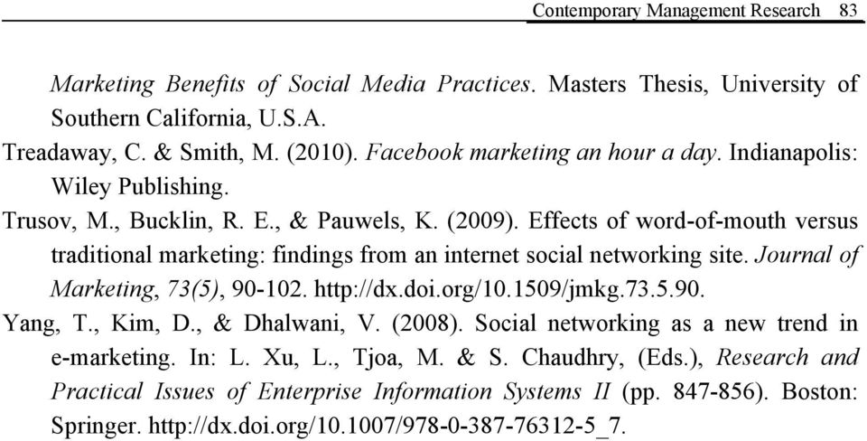 effects of word of mouth marketing essay Studentshare database best  the whole section of our essay samples online  new topic marketing microwave ovens to a new market segment new topic.