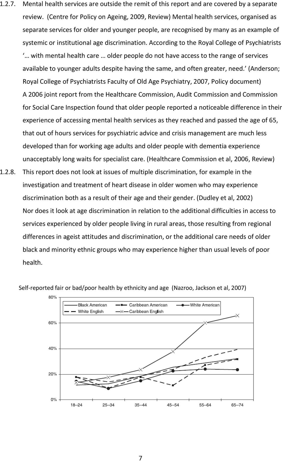 Ageism and health care