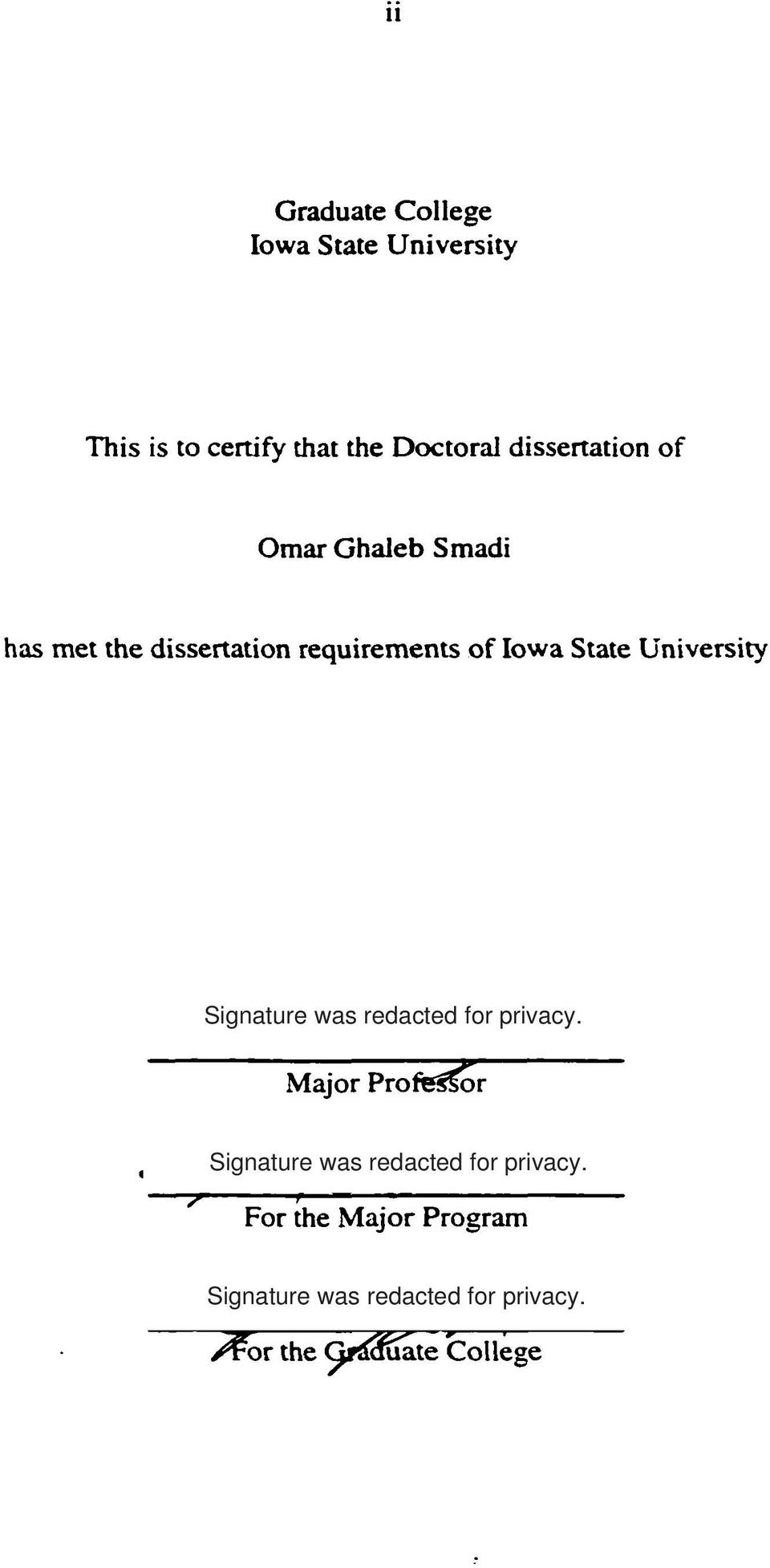 Dissertation Abstracts And Umi