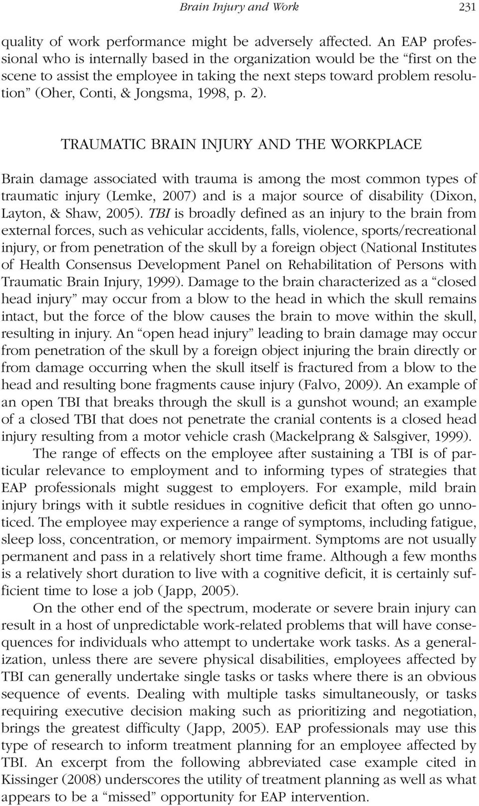 example of a tbi neuropsychological report pdf