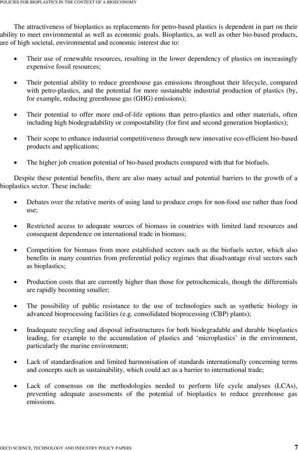 Policies for Bioplastics in the Context of a Bioeconomy - PDF