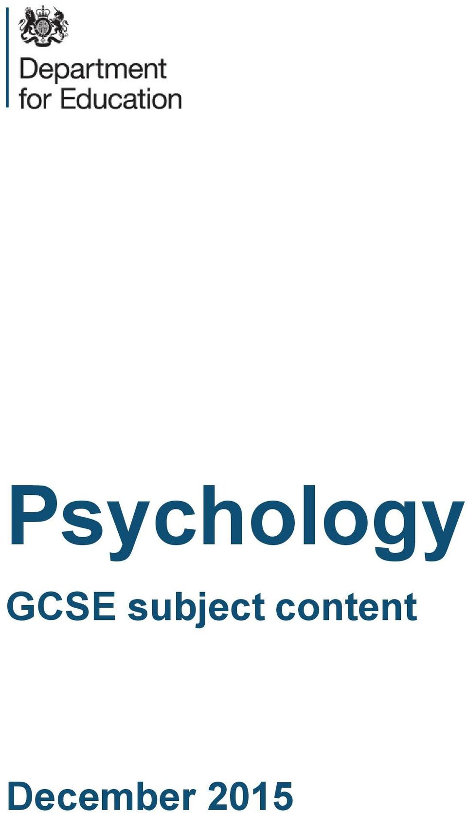 psychology coursework gcse Study gcse psychology online at interhigh – the uk's leading online school igcse psychology is one of many subjects, taught by our expert faculty study gcse psychology online at interhigh – the uk's leading online school.